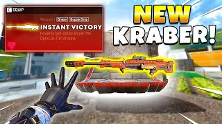 *NEW* BUFFED KRABER Is a Free Win! - NEW Apex Legends Funny & Epic Moments #606
