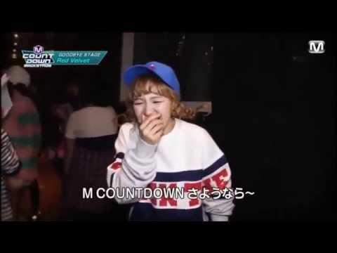 Red Velvet having fun with Lovelyz's Ah Choo