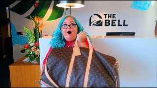 I STAYED AT THE TACO BELL HOTEL!