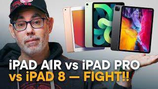 iPad Air 4 vs iPad Pro 11 vs iPad 8 — Buy This One!