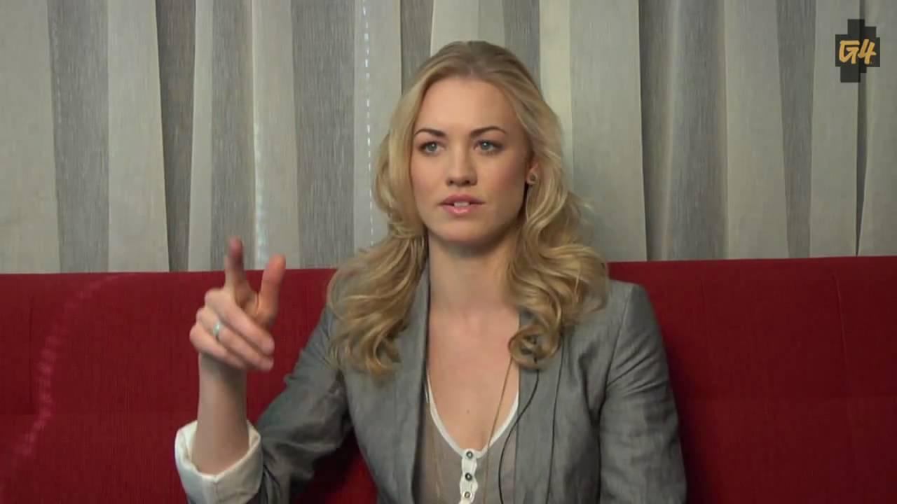 Yvonne Strahovski Interview - Mass Effect 2 (HD) - YouTube