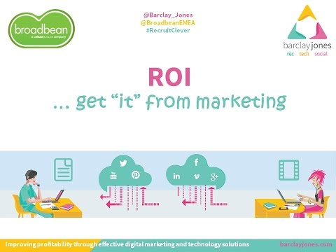 #RecruitClever Webinar: See ROI from your Recruitment Marketing