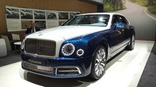 BENTLEY MULSANNE Extanded Limited 2017 Geneva Motor Show - Walk Around