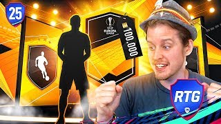 OMG A WALKOUT! RTF ALONSO SBC 100K PACK! ZWE TO GLORY #25 FIFA 19 ULTIMATE TEAM RTG