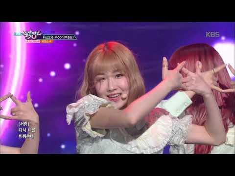 뮤직뱅크 Music Bank - Puzzle Moon(퍼즐문) - 공원소녀(GWSN).20180921