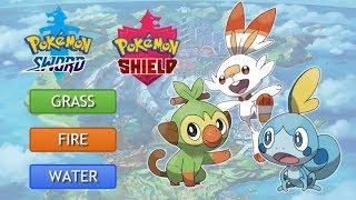 Pokémon Sword And Shield! Starter Analysis and Evolution Speculation