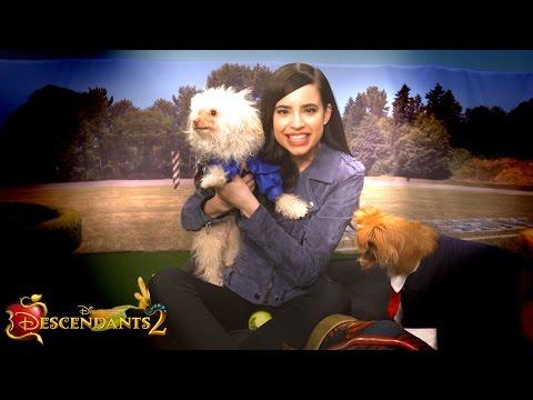 Sofia Carson Plays with Puppies!   Dogscendants 🐶  Descendants 2