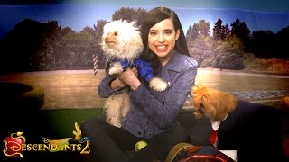 Sofia Carson Plays with Puppies! | Dogscendants 🐶| Descendants 2