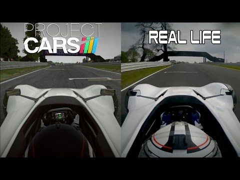 Project CARS Vs Real Life - Bac Mono @ Oulton Park