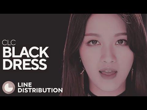 CLC - Black Dress (Line Distribution)