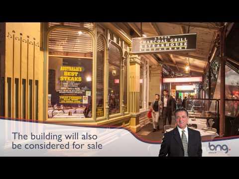 "Premier Steakhouse ""Business for Sale"" in Lygon Street Carlton…"