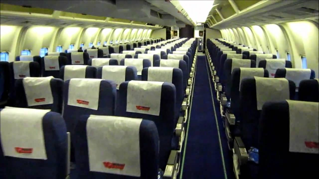 Boeing 767 300 Interior Youtube