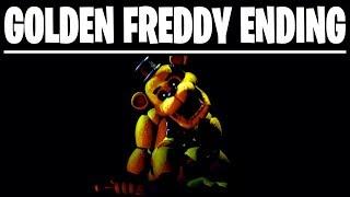 GOLDEN FREDDY SECRET CUTSCENE ENDING - Five Nights at Freddys Ultimate Custom Night