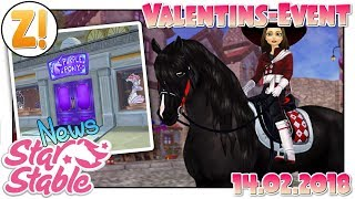 Star Stable Update [SSO]: Valentinsevent + Cosplayshop & NSK in App [Update 14.02.2018]