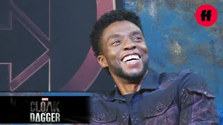 Chadwick Boseman | Extended Interview with Aubrey Joseph & Olivia Holt | Marvel's Cloak & Dagger