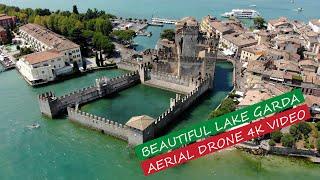 Beautiful Lake Garda (Italy) AERIAL DRONE 4K VIDEO