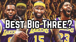 Meet the Los Angeles Lakers NEW Big Three! | DeMarcus Cousins Joins LeBron James & Anthony Davis!