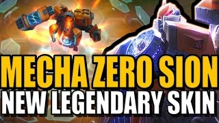 MECHA ZERO SION - New Legendary Skin Gameplay - League of Legends