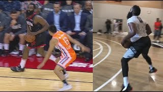 James Harden Shocking New Moves That Will Destroy NBA Players When Perfected!