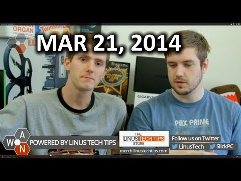 The WAN Show: IPhone 6 Rumours, Oculus DK2 & Project Morpheus, Moto 360 - March 21, 2014 - Smashpipe Tech