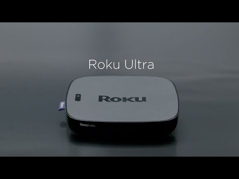 video Media player Roku Ultra | (2018) 4K/HDR/HD, telecomanda + casti JBL