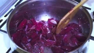 Ethiopian Food - Beetroot & Potato Vegan  Amharic & English Injera Wot Berbere Kitfo Tibs