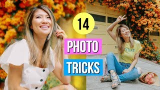 14 Photography Hacks and Tricks for BETTER Instagram Photos!