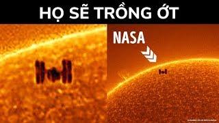Bạn đã thấy hình ảnh độc nhất của trạm không gian nằm phía trước mặt trời chưa?