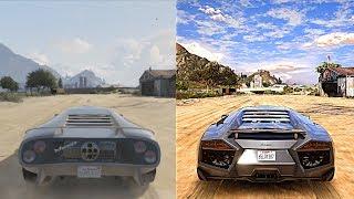►GTA 5 Xbox 360 vs Ultra Realistic 4K 60FPS PC Graphics   2018 REDUX Gameplay!