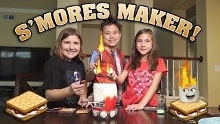 FLAMING MARSHMALLOWS with The Amazing S'MORES MAKER!