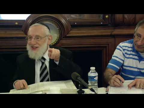 Cours du Grand Rabbin de Paris Michel Gugenheim du 27 janvier 2013