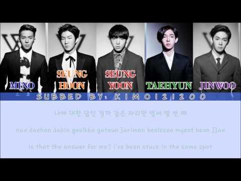 Winner - Color Ring (컬러링) [Hangul/Romanization/English] Color & Picture Coded HD
