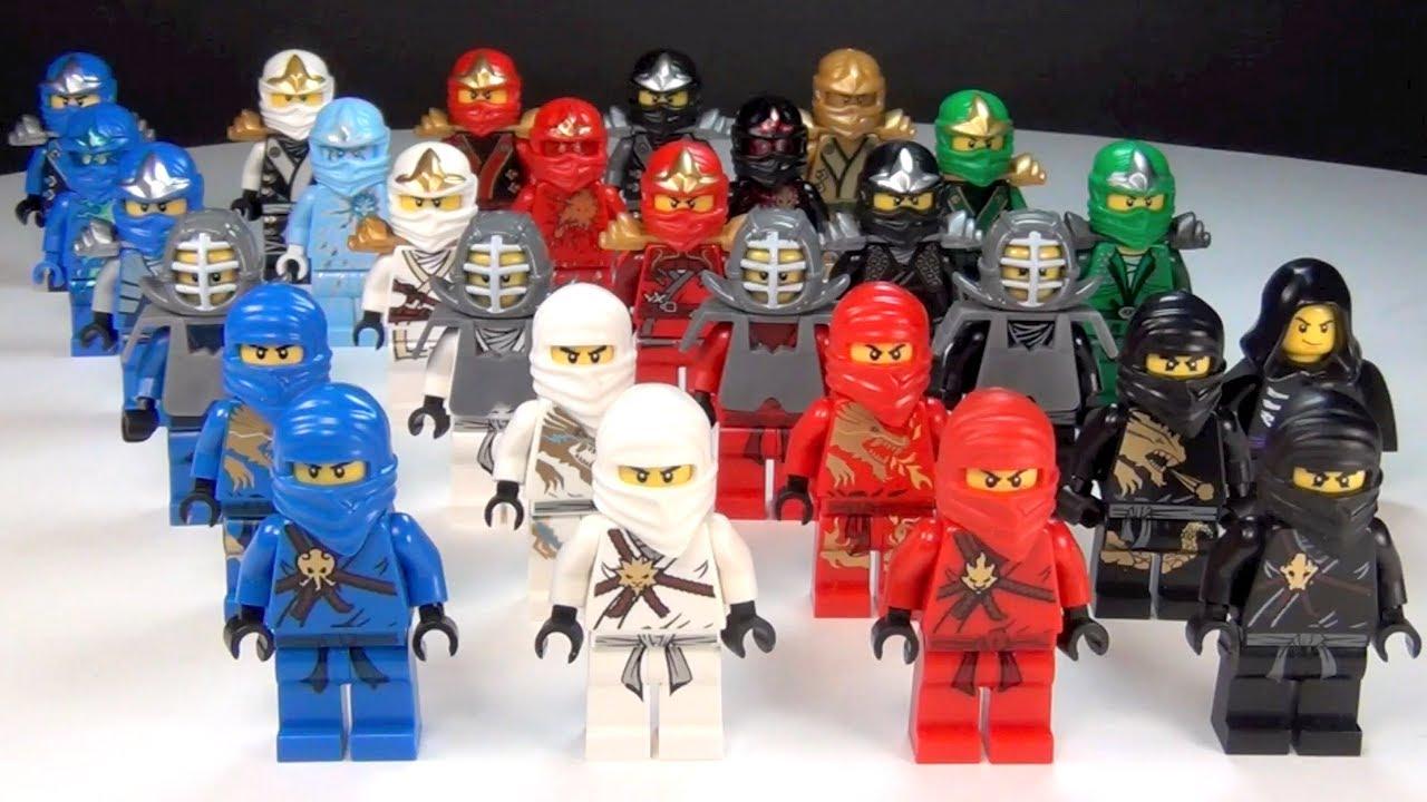 LEGO Ninjago Ultimate Ninja Complete Collection - YouTube