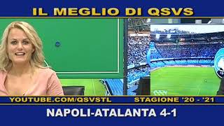QSVS - I GOL DI NAPOLI-ATALANTA 4-1  - TELELOMBARDIA / TOP CALCIO 24