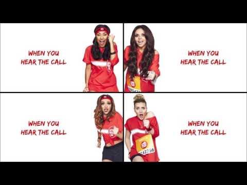 Little Mix - Word Up! (Lyrics + Pictures)
