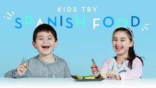 Kids Try Spanish Food | Kids Try | HiHo Kids
