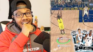 NBA 2k17 MyTeam - Must Win Game! Deep Contested Buzzer Beater + Team USA Diamond Beasting!