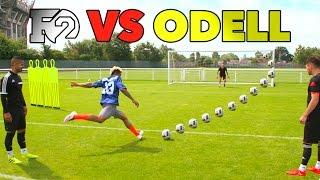 ODELL'S OUTRAGEOUS SOCCER SKILLS | F2 vs Beckham Jr 😱🏈⚽️