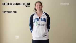 Cecilia Zandalasini - Shooting Stars - 2014 U18 European Championship Women 1