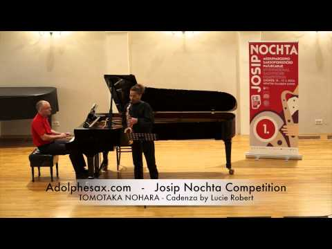 Josip Nochta Competition TOMOTAKA NOHARA Cadenza by Lucie Robert
