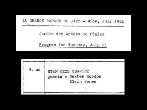 Stan Getz & Dexter Gordon - It's You Or No One (1981-Nice)