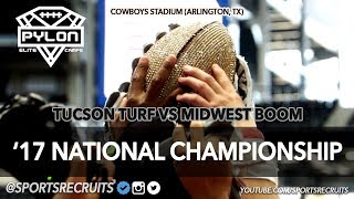 Tucson Turf vs Midwest Boom: Pylon '17 National Championship Highlights (Cowboys Stadium)