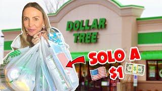 HICE SHOPPING EN LA TIENDA DE $1 DÓLAR, ¿REALMENTE VALE LA PENA? - ERIKA ZABA