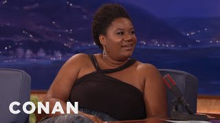 Adrienne C. Moore's Inspirational Babysitting Story  - CONAN on TBS