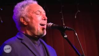 Tom Jones performing