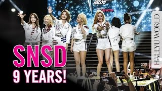SNSD 9 Year Anniversary Special: Girls' Generation 少女時代9週年 (*CC中字)