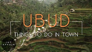 3 Things EVERY TOURIST Will Experience in Ubud, Bali