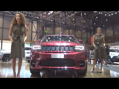 @FCAgroup @Jeep Grand Cherokee SRT (2017) Exterior and Interior in 3D