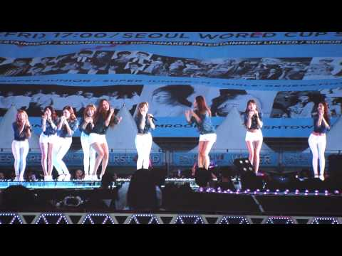 140815 sm콘서트 소녀시대gee