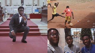 Ghana Vlogs: My Christmas In Ghana, Meeting Old Friends & The Soccer Game | Week 3